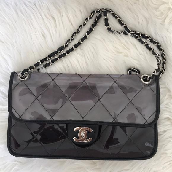 766c27fbff9a CHANEL Handbags - Chanel vintage pvc bag!